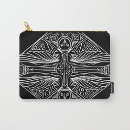 Primal Owl Mandala Carry-All Pouch