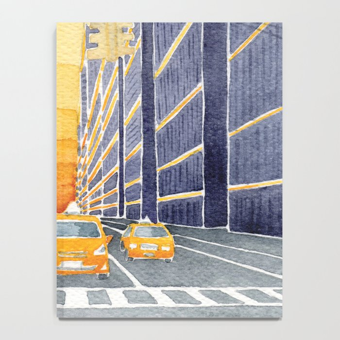 NYC, yellow cabs Notebook