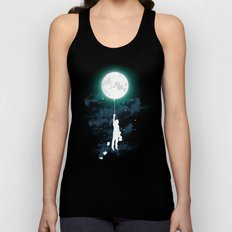 Burn the midnight oil Unisex Tank Top