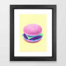 HAMBURGER Framed Art Print