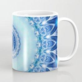 Mandala Iceblue Coffee Mug
