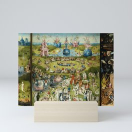 Hieronymus Bosch The Garden Of Earthly Delights Mini Art Print