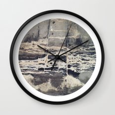 Planetary Bodies - Cement Wall Clock