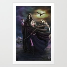 Grim Reapers Art Print