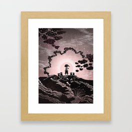 Pollen Zone Framed Art Print