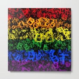 LGBT Metal Print
