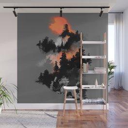 A samurai's life Wall Mural