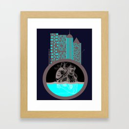 Heart of the City Framed Art Print