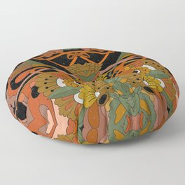 Olive Branch Floor Pillow