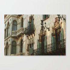 Passeig de Gracia  Canvas Print