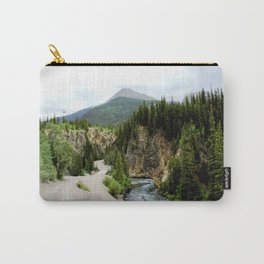 Crossing the Animas River to the Mayflower Mine Carry-All Pouch