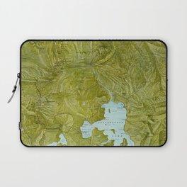 Map of Yellowstone 1898 Laptop Sleeve