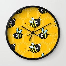 Bumble Bees Wall Clock