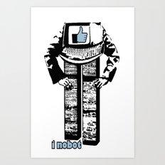 I nobot Art Print