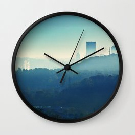 Peek-A-Boo Pittsburgh, Pennsylvania Wall Clock
