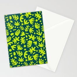 Matisse Paper Cuts // Lime Leaves Stationery Cards