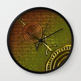 Ancestral Ornament 2C Wall Clock