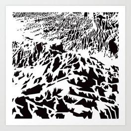 Mungo landscape Art Print
