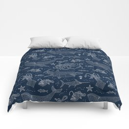By Star or By Sea Comforters