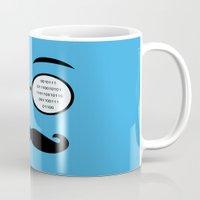 geek Mugs featuring Geek by Nora