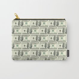 Hundred dollar bill money pattern Carry-All Pouch