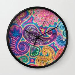 Goniochromism Wall Clock