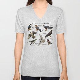 Falcons of the World Unisex V-Neck