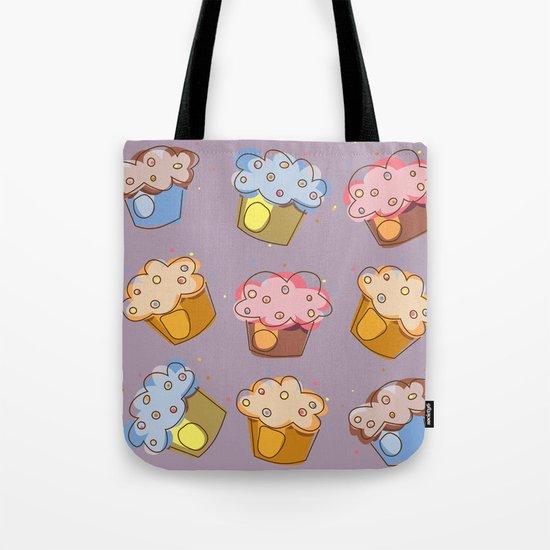 Muffins - pattern Tote Bag