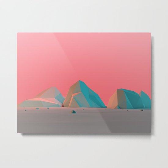 Geometric Landscape VH07 Metal Print