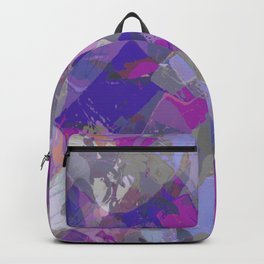 Moon Beam Abstract Backpack