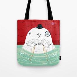 Sir Wilfred Wallace, The Wonderful Walrus Tote Bag