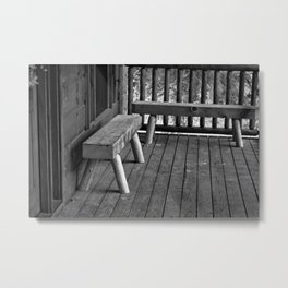 Sit Down and Take a Load Off Metal Print