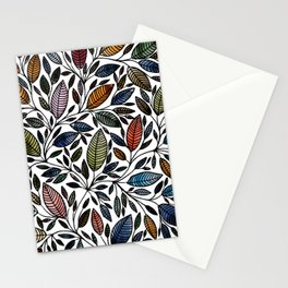 Floral Illustration - Leaf - No*52 Stationery Cards