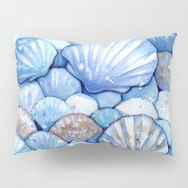 Sea Shells Aqua Pillow Sham