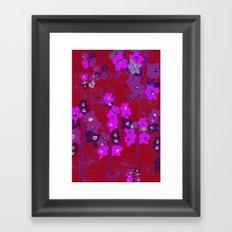 Oriental Orchids Framed Art Print