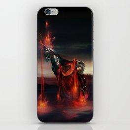 Invoking the Cosmic Warhorse iPhone Skin
