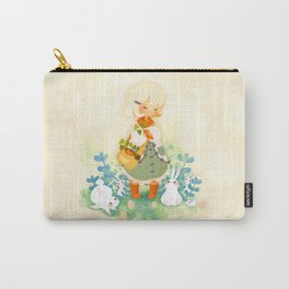 Special Easter: Chocolate and Bunnies Carry-All Pouch