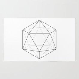 Icosahedron Rug