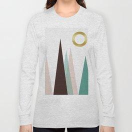 Minimalist landscape XI Long Sleeve T-shirt