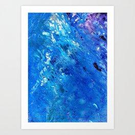 Liquid oxy  Art Print