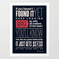 If you haven't found it yet Art Print