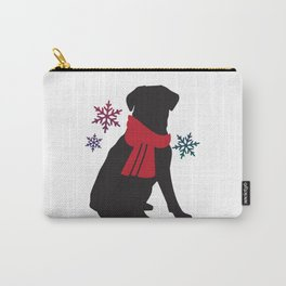 Black Dog Winter Carry-All Pouch