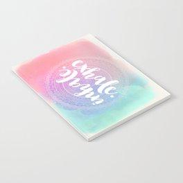Inhale Exhale Notebook