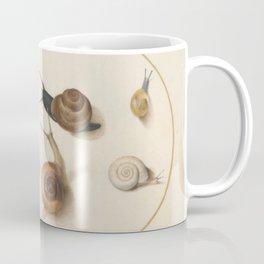 Naturalist Snails Coffee Mug