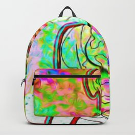Psychedellic Galaxy Backpack