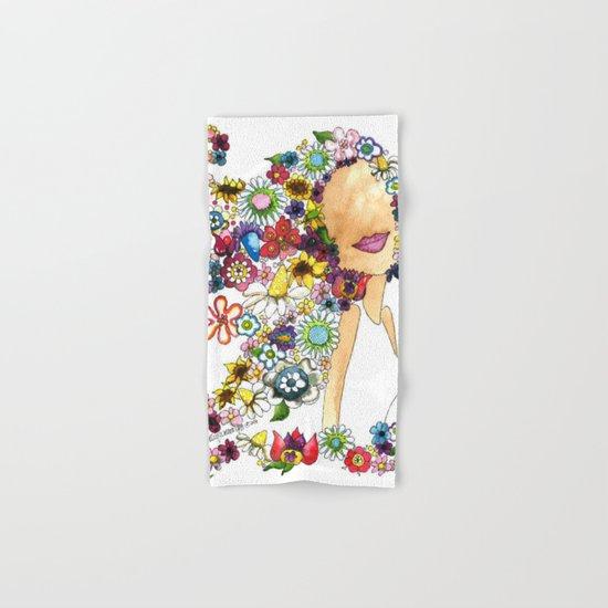 Flower Girl Two Hand & Bath Towel