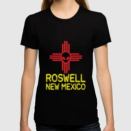 Roswell New Mexico Zia Symbol T-shirt