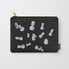 3D Chess Pieces composition Carry-All Pouch