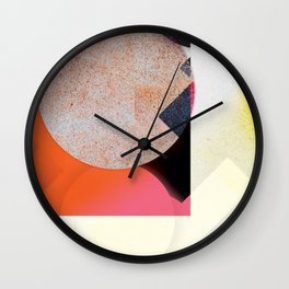 city moon 2 Wall Clock