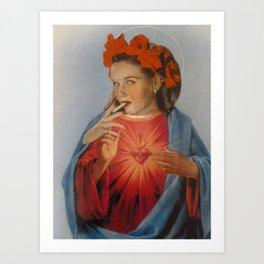 Mad Magdaline Art Print